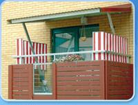 Fantastisk Balkongskydd som vindskydd, insynsskydd och solskydd till balkong VR-77