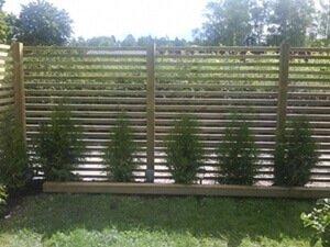 Icke gamla Vindskydd till trädgård, altan, balkong mm MY-36