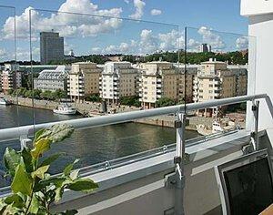 Bra Balkongskydd som vindskydd, insynsskydd och solskydd till balkong DD-93