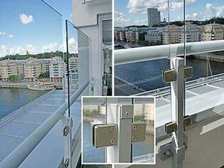 Kända Balkongskydd som vindskydd, insynsskydd och solskydd till balkong OP-96